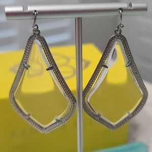 Kendra Scott Alexandra Earrings in Silver